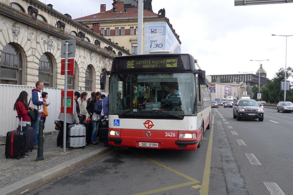 autobuski prevoz u pragu