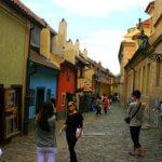 gold street in Prague