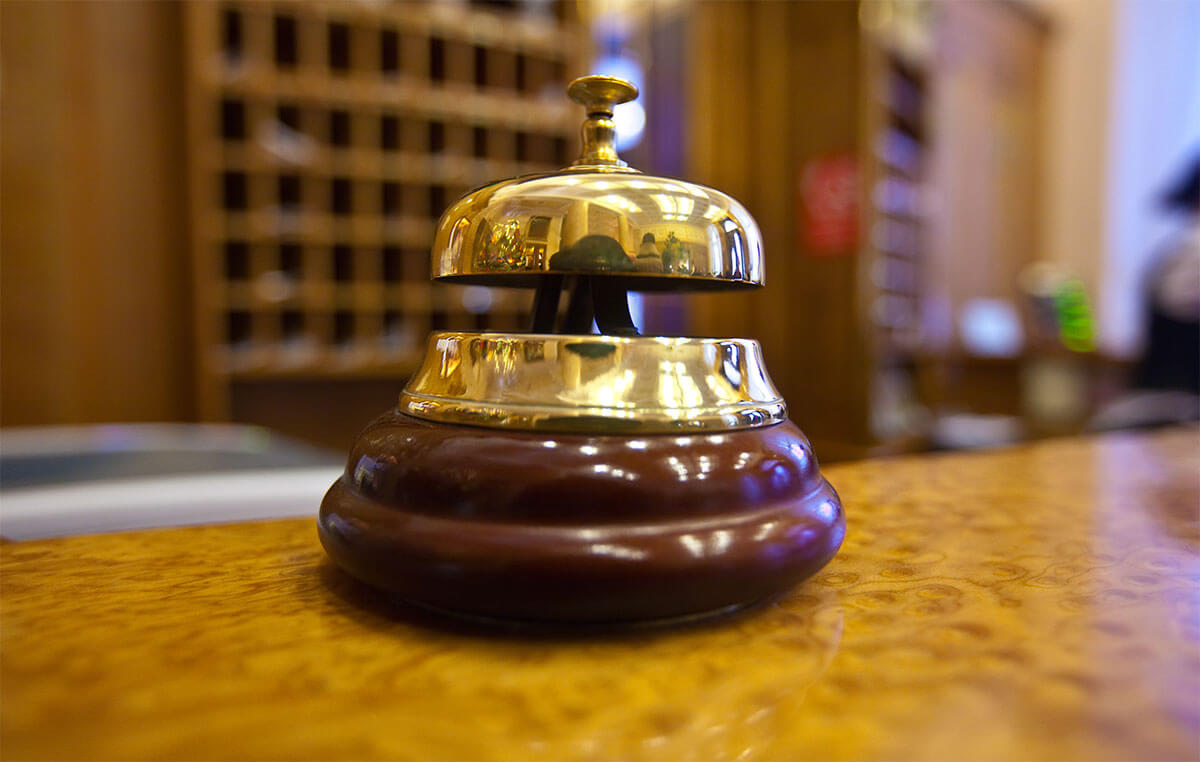hotel bell in prague