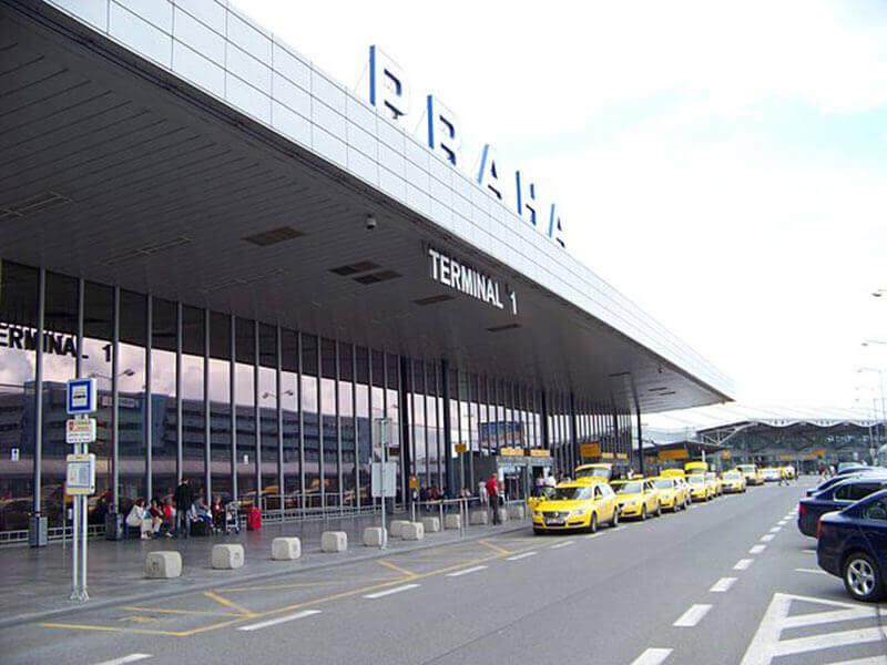 the prague airport