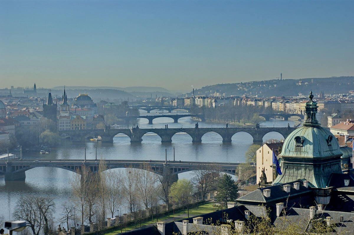 history of prague - Prague landscape